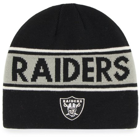 Nfl Oakland Raiders Bonneville Knit Beanie By Fan Favorite