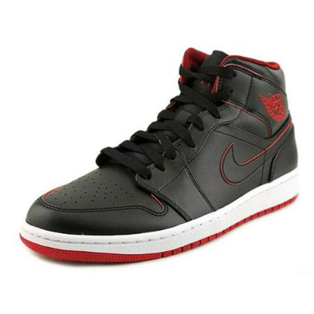 Nike - Nike Jordan Men s Air Jordan 1 Mid Basketball Shoe - Walmart.com 2132fb6ad