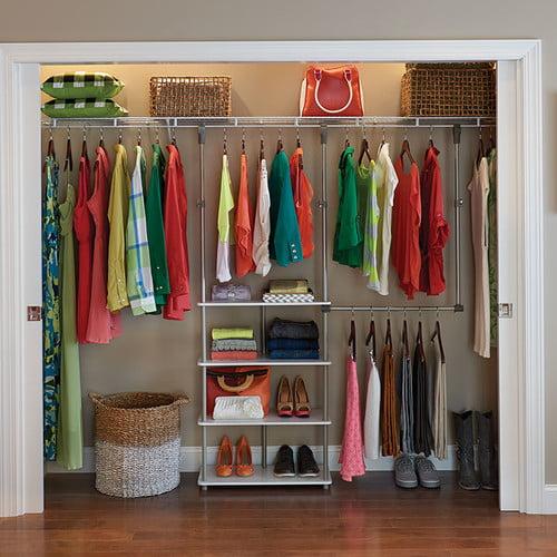 Bedroom Closet Shelf Height