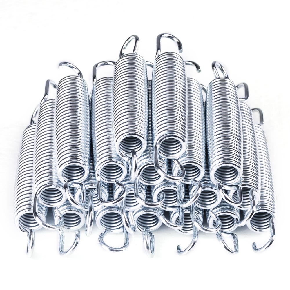 20pcs 5.3 Inch Galvanized Steel Trampoline Springs Galvanized Replacement Set