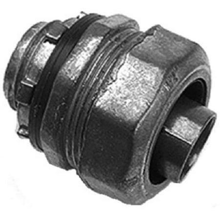 Multi Piece Liquid Tight Straight Connector 0 5 In