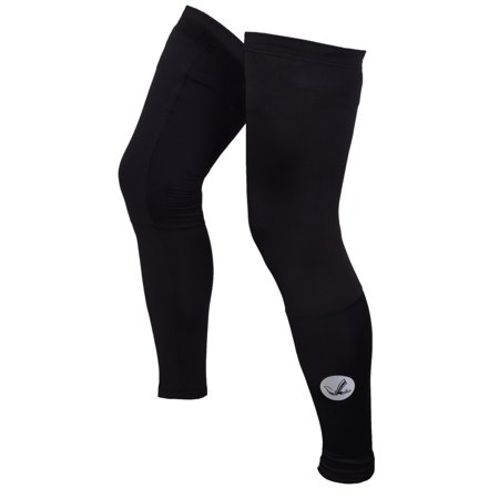 Unisex Elite Winter Thermal Running Cycling Leg Warmers with Reflective Elements (Elite Thermal Cycling Knickers)