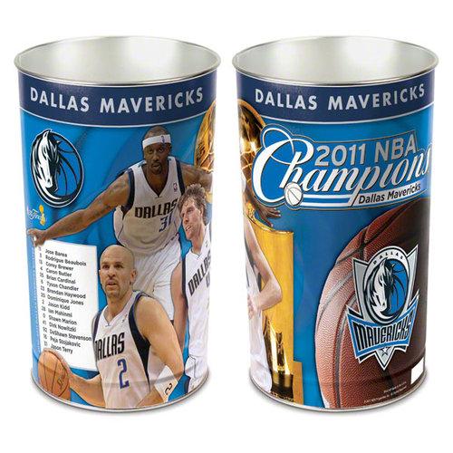NBA - Dallas Mavericks 2011 NBA Champions Player Wastebasket