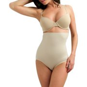 Cupid Women's Extra Firm Smooth Hi-Waist Brief