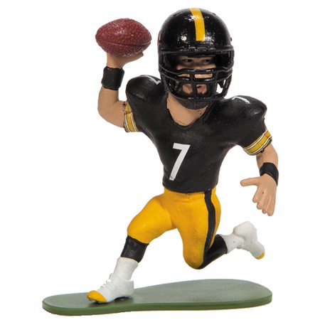 Mcfarlane Toys Action Figure   Nfl Small Pros Series 3   Ben Roethlisberger  Wearing Helmet
