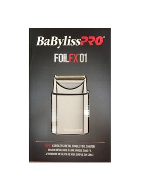 BaBylissPRO FOILFX01 Cordless Metal Single Foil Shaver