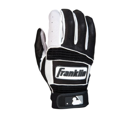 Franklin Neo Classic II Series Adult Batting Gloves - Pearl/Black/White