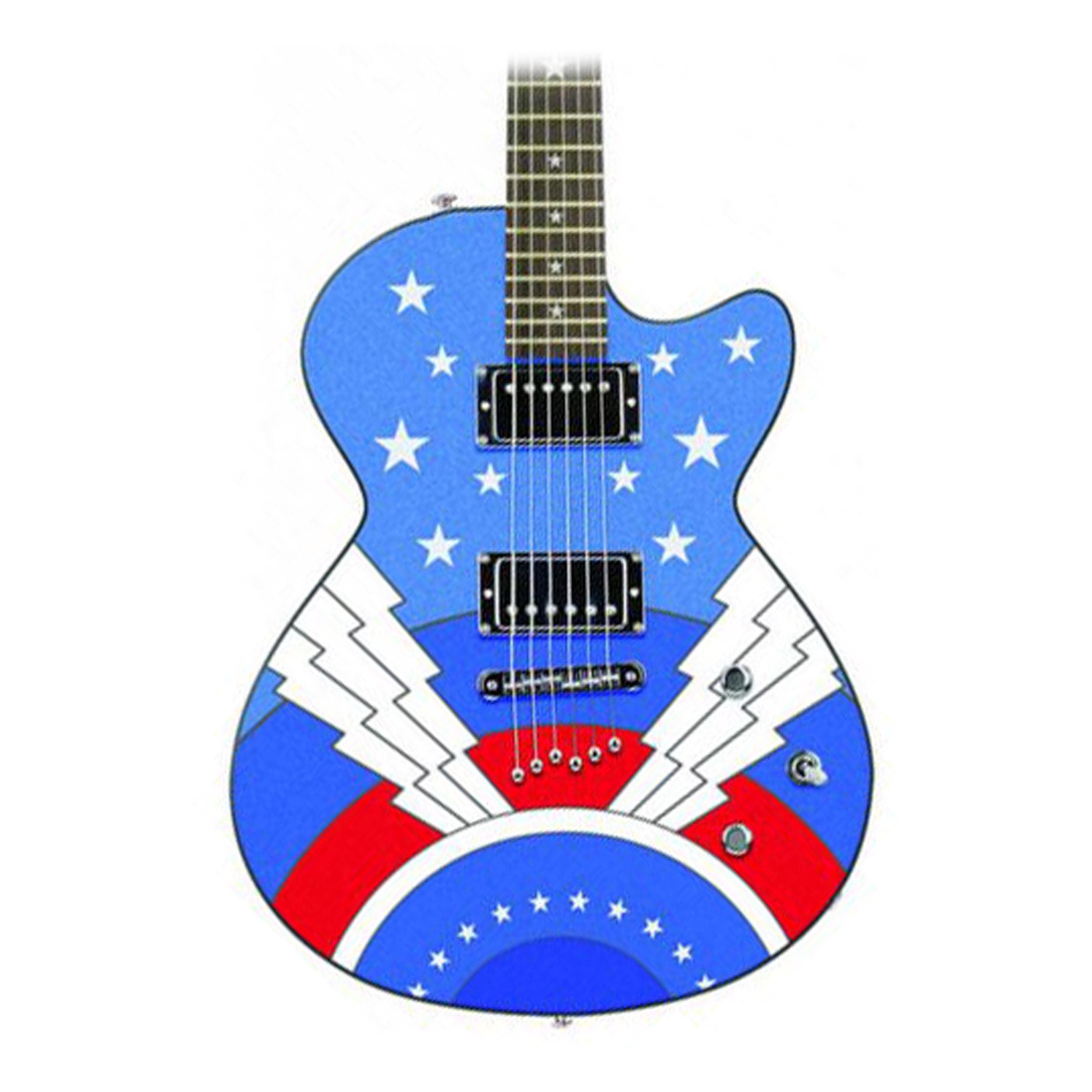 Daisy Rock Candy Graphic Super Guitar Girl by