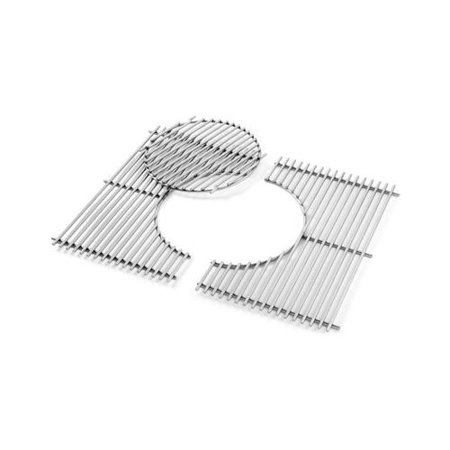 Weber Gourmet BBQ System Replacement Cooking Grate and Insert for Spirit 300 Gas (Gas Bbq Insert For Brick Built Bbqs)