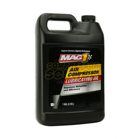 1 Gallon Gal ISO-100 Non Detergent Air Compressor Oil Lube Jug Lubricant SAE