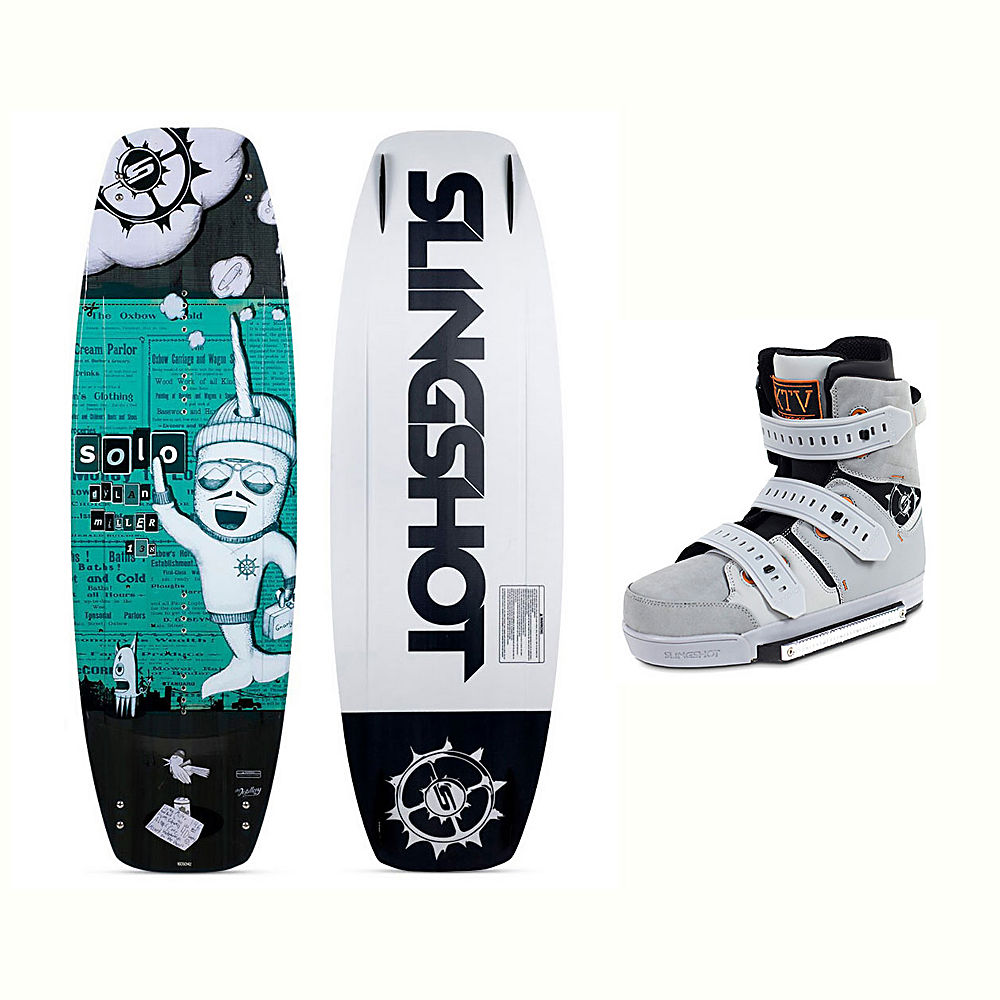 Slingshot Solo Wakeboard With KTV Bindings 2017 by Slingshot
