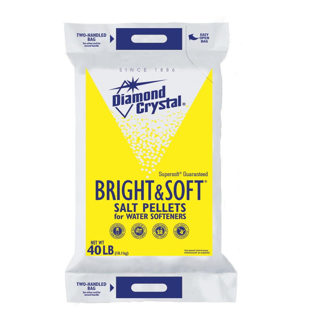 Diamond Crystal Bright Amp Soft Water Softener Salt Pellets