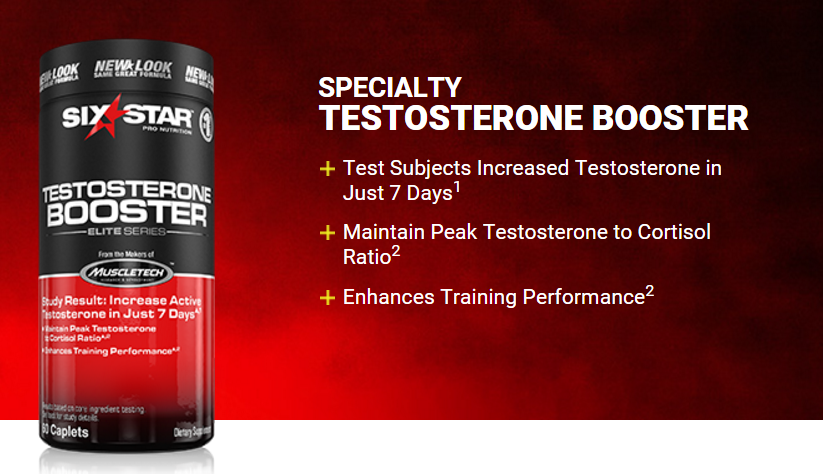 Testosterone Booster Supplement for Men