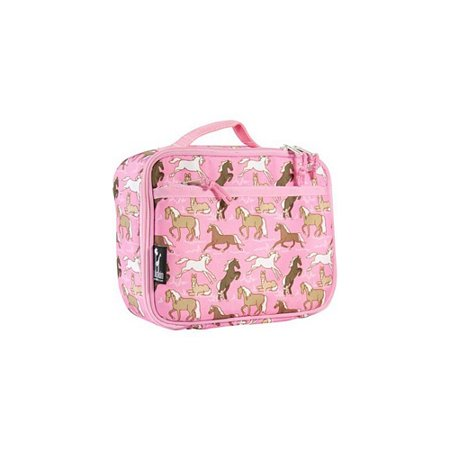 Lonchera Caballos en lonchera rosa + Wildkin en Veo y Compro
