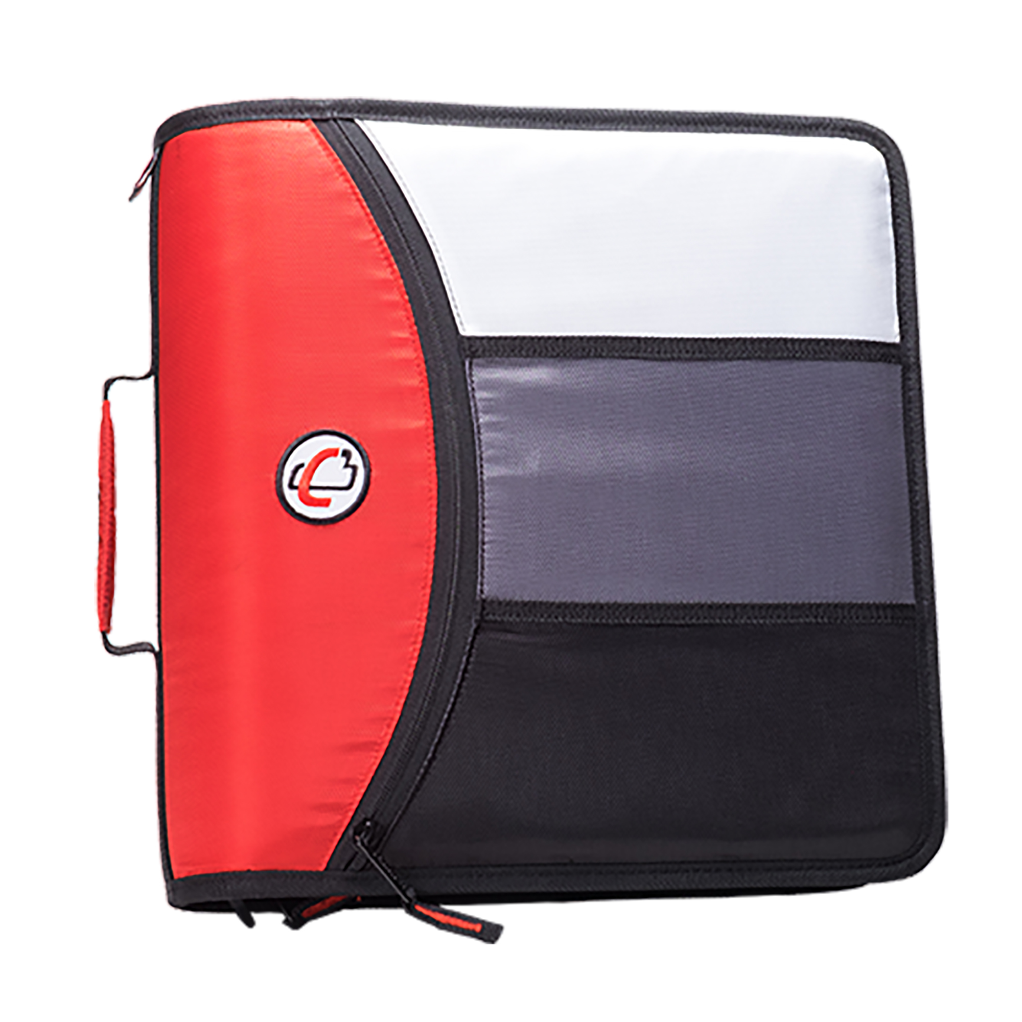 Case it The Mighty Zip Tab 3-Ring Zipper Binder D-156-B