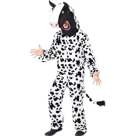 Smiffys Cow Bodysuit Adult Costume One Size Fits Most