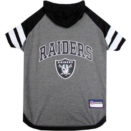 - Pets First NFL Oakland Raiders Pet Hoodie Tee Shirt