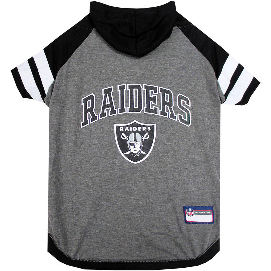 Pets First NFL Oakland Raiders Pet Hoodie Tee Shirt