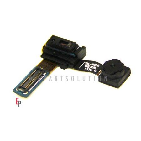 - epartsolution-samsung galaxy note 3 n9000 n9005 n900a n900p n900t proximity light sensor flex cable with front face camera replacement part usa seller
