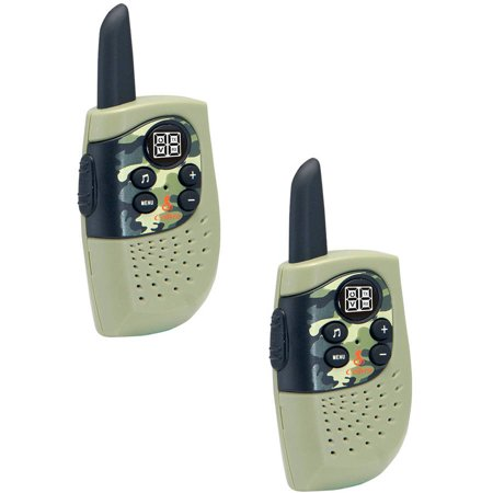Cobra HE130G 16-Mile 2-Way Radios/Walkie Talkies (Green/Camo)