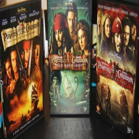 Pirates of the Caribbean Trilogy (Curse of the Black Pearl / Dead Man's Chest / At World's
