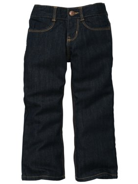 Oshkosh B'Gosh Girl's Bootcut Denim Jeans Baltimore Dark Rinse