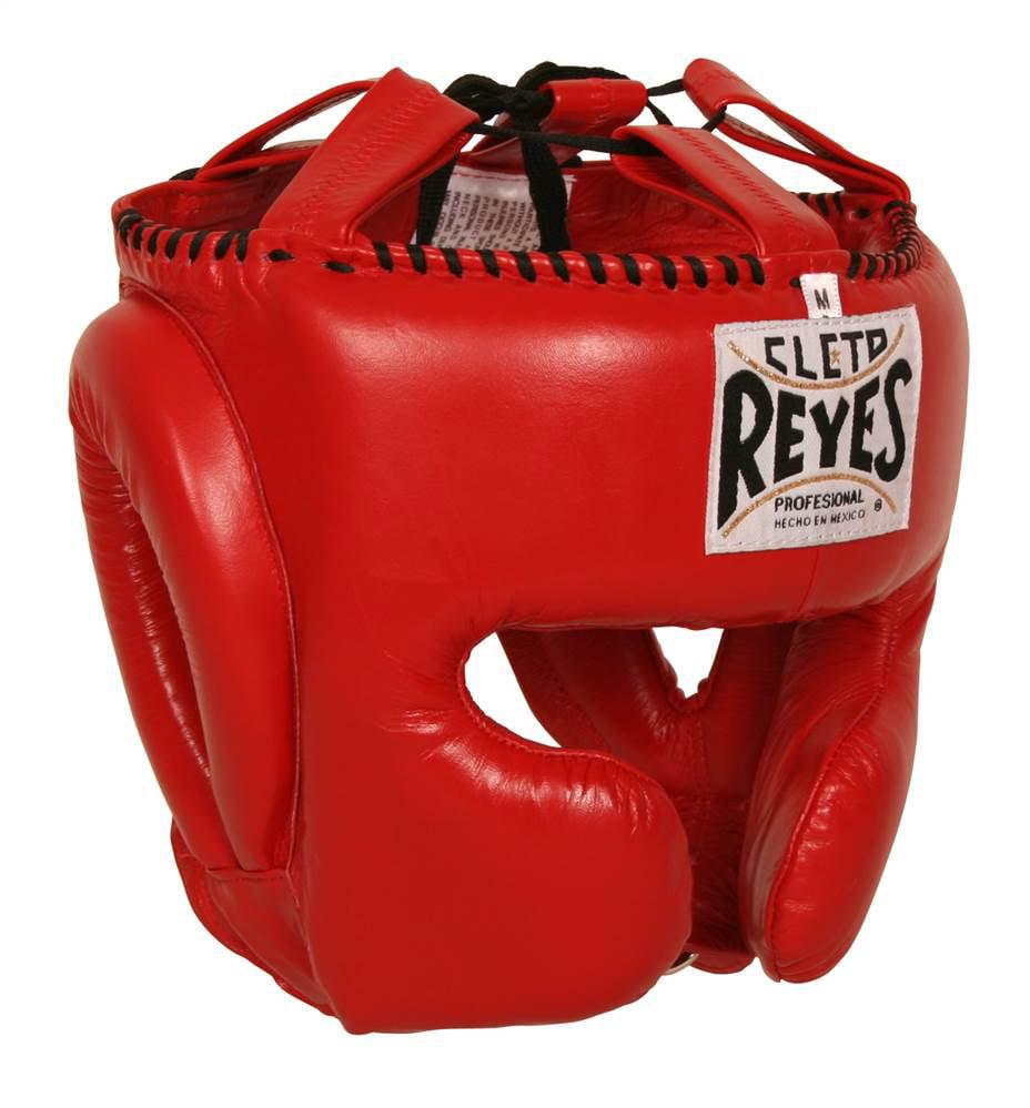 Headgear w Cheek Protectors (Large in Red)