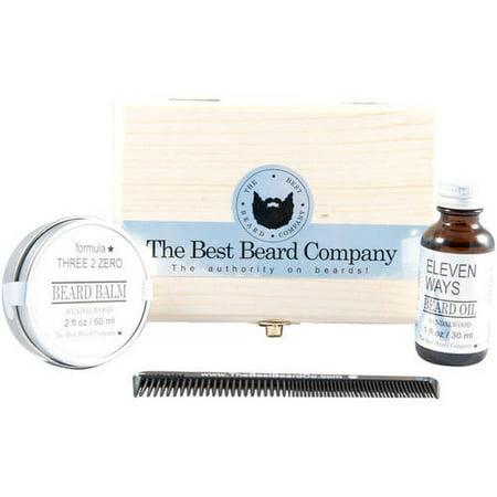 The Best Beard Company Sandalwood Premium Grooming Kit, 4 (Best Mens Grooming Kit 2019)