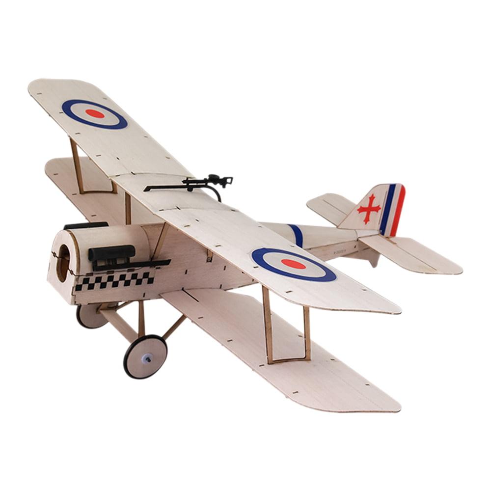 Royal Aircraft Factory SE5a Balsa Wood 378mm Wingspan Biplane Warbird Aircraft Model Light... by