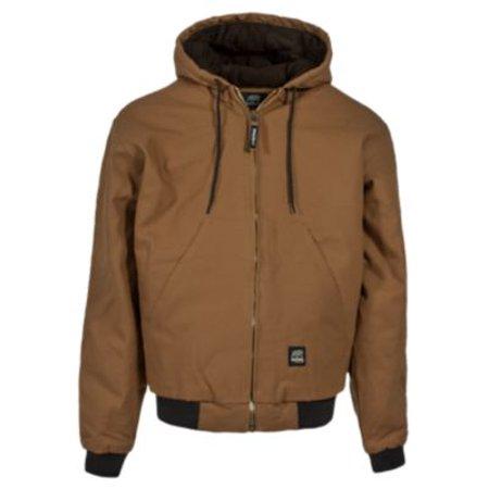 Apparel HJ51BDR440 44/Large Original Hooded Jacket - Quilt Lined Regular - Brown Duck