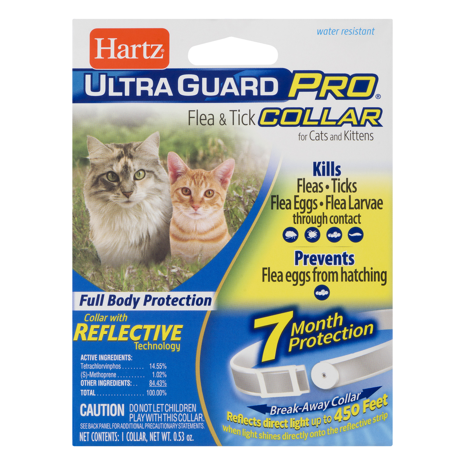 Hartz Ultra Guard Pro Flea & Tick Collar, 0.53 OZ