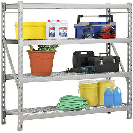 SANDUSKY LEE TP722472W4 Bulk Storage Rack, Steel, 4800 lb., - Sandusky Lee Wall