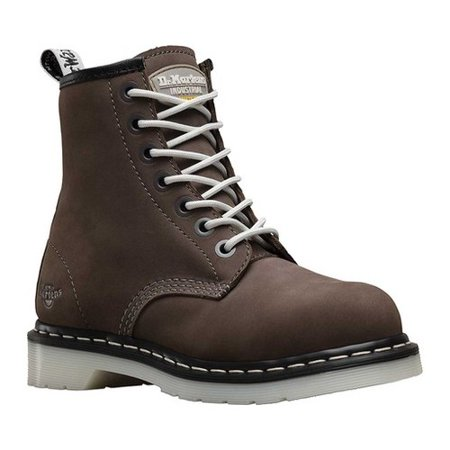 Dr Martens Steel Boots (Women's Dr. Martens Work Maple Steel Toe Work Boot)