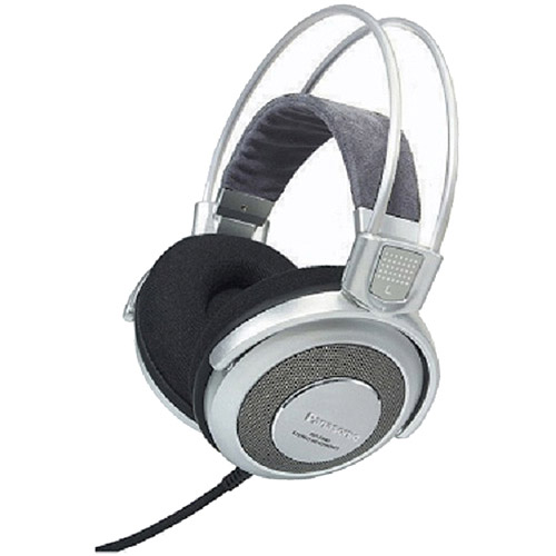 Panasonic Pro Studio Monitor Style Headphones, Silver