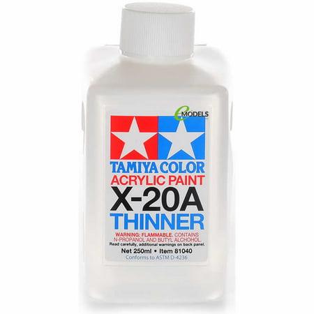 - Tamiya Super Large Bottle Acrylic Paint X-20A Acrylic Thinner