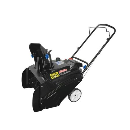 163CC Single Stage Snow Blower with Electric start - 21 in. ()