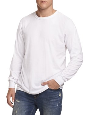 Russell Athletic Men's and Big Men's Essential Dri-Power Long Sleeve T-Shirt with 30+ UPF