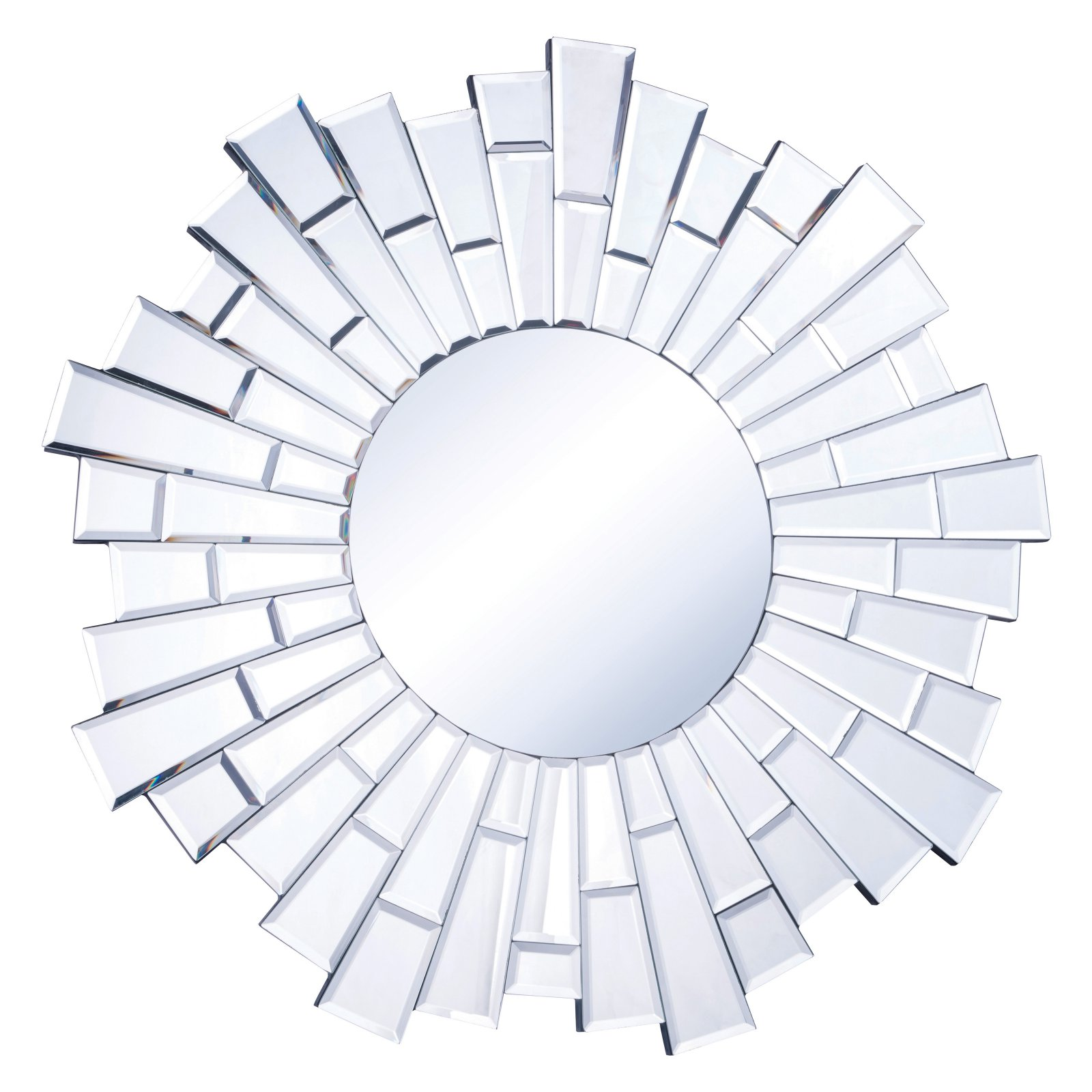 Elegant Furniture & Lighting Modern Wall Mirror