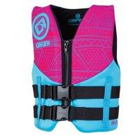 "O'Brien Youth Life Jacket (50-90 Ibs, 25""-29"") Blue/Green and Pink/Aqua"