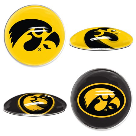 Iowa Hawkeyes Official NCAA  Sport Dotts Magnet 2 Pack by Wincraft