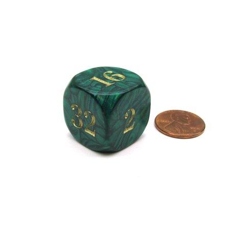 Koplow Games Backgammon 22mm Doubling Cube Dice - Green #11861