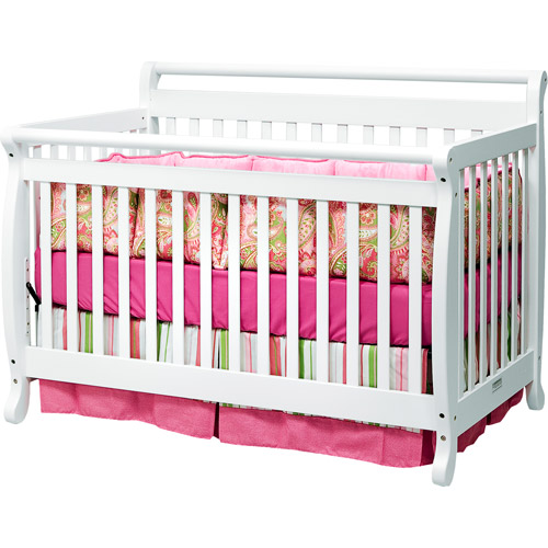 Baby Mod - Lily 4-in-1 Crib, White