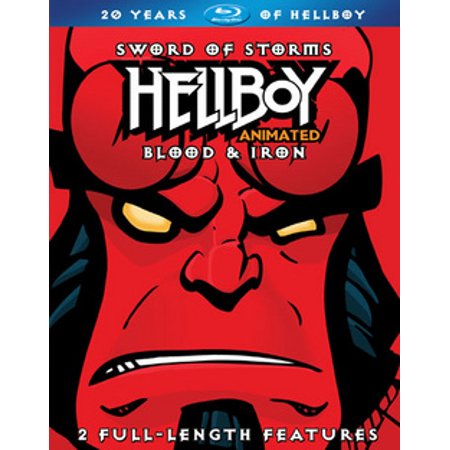 Hellboy: Sword of Storms / Blood & Iron (Blu-ray)