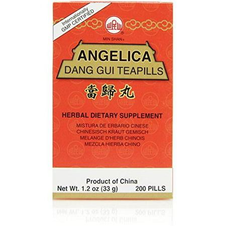 Dang Gui Wan (Dang Gui Wan (Angelica Dang Gui Teapills), 200 ct, Min Shan)