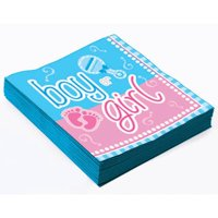 Gender Reveal Beverage Napkins, 32ct