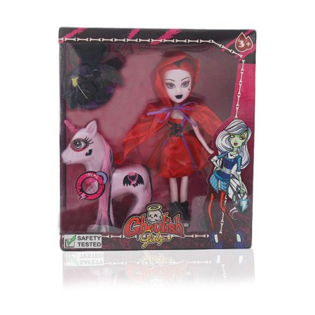 Ghoullish Girlz with Unicorn and Red - Red Cloaks For Sale