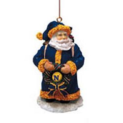 The Memory Company NAV-3003 Navy Classic Santa Ornament ()