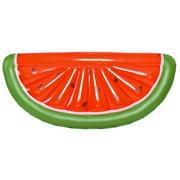 70.5'' Red and Green Jumbo Watermelon Slice Swimming Pool Mattress