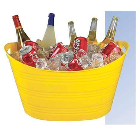 PTUB-BY YEL Party Tub - Yellow - Pack of 6