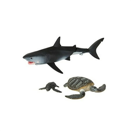 TOMY ANIA Under the Sea Value Pack Great White Shark and Sea Turtles